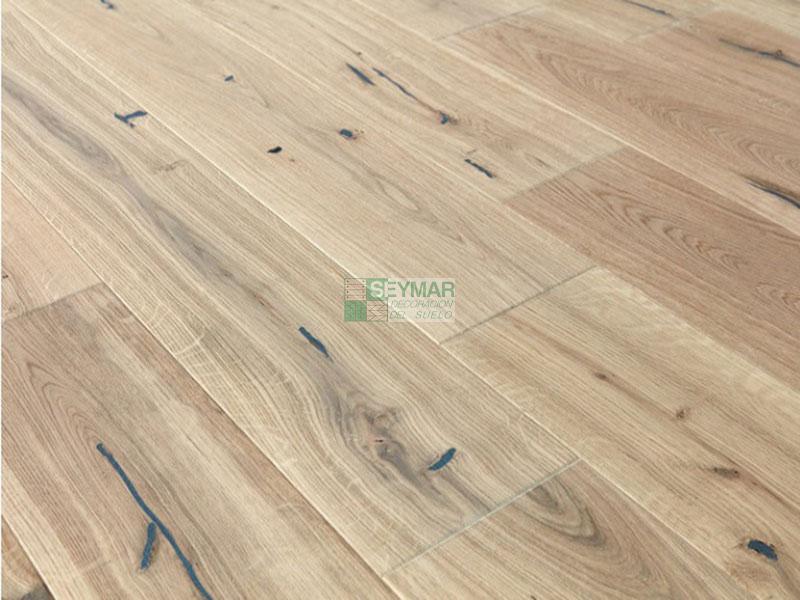 Parquet flotante 1 lama Roble Sahara